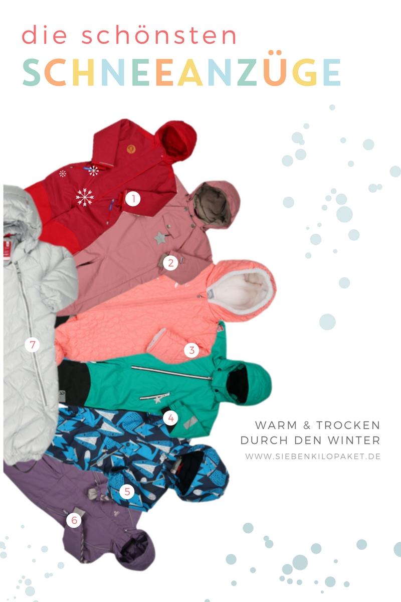 Auf der Suche nach einem Kinder-Schneeanzug, der gleichzeitig gut aussieht und kein Loch in die Weihnachtskasse reißt? Hier sind die schönsten Schneeanzüge!