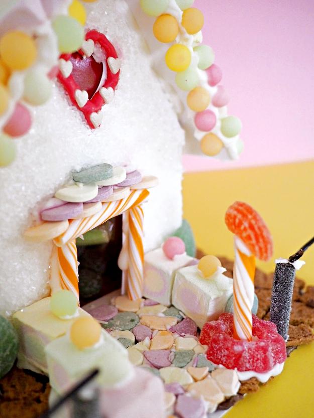 Lebkuchenhaus Weihnachten mit Kindern