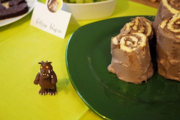Geburtstag feiern mit Grüffelo Ideen DIY Rezepte