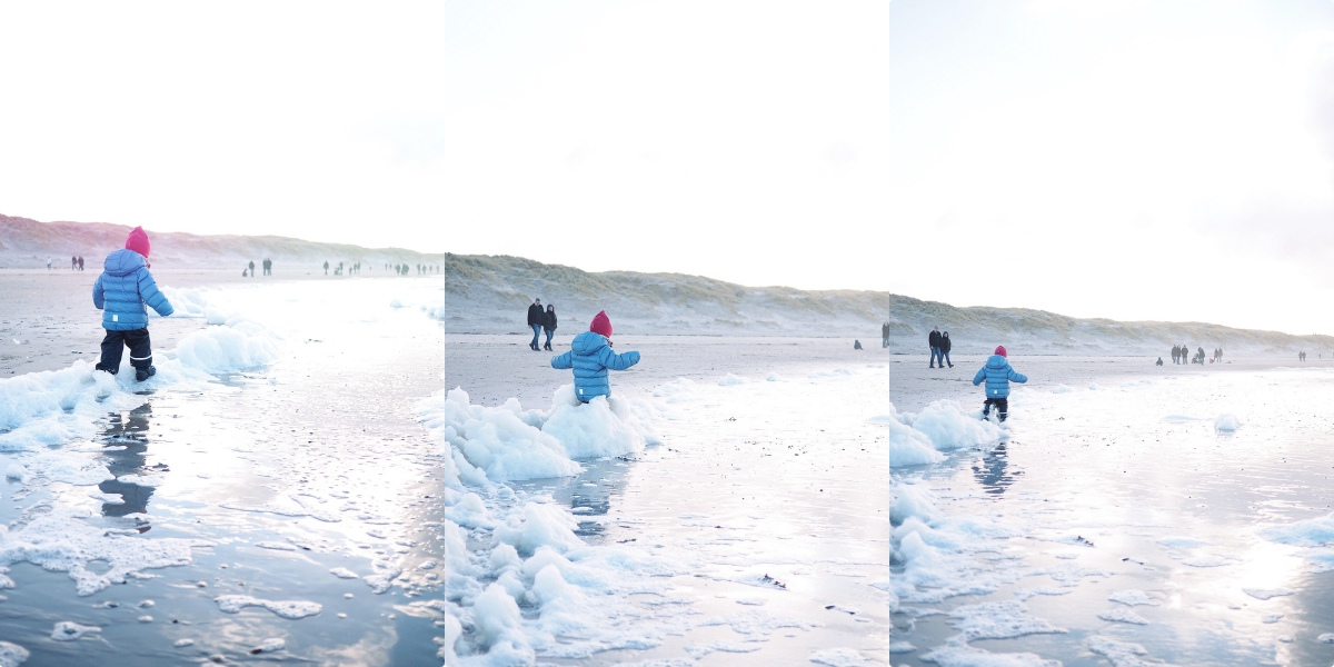 Kinder im Winter anziehen welche Jacke Daunen oder Polyester Kunstfaser