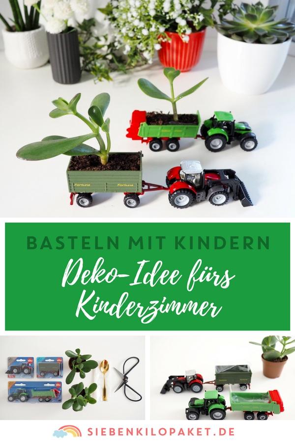 Basteln mit Kindern - Dekoidee fuers Kinderzimmer DIY Siku Spielzeugauto - #spielzeugauto #upcycling #diy #bastelnmitkindern #siku #matchbox
