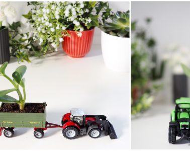 Basteln mit Spielzeugautos