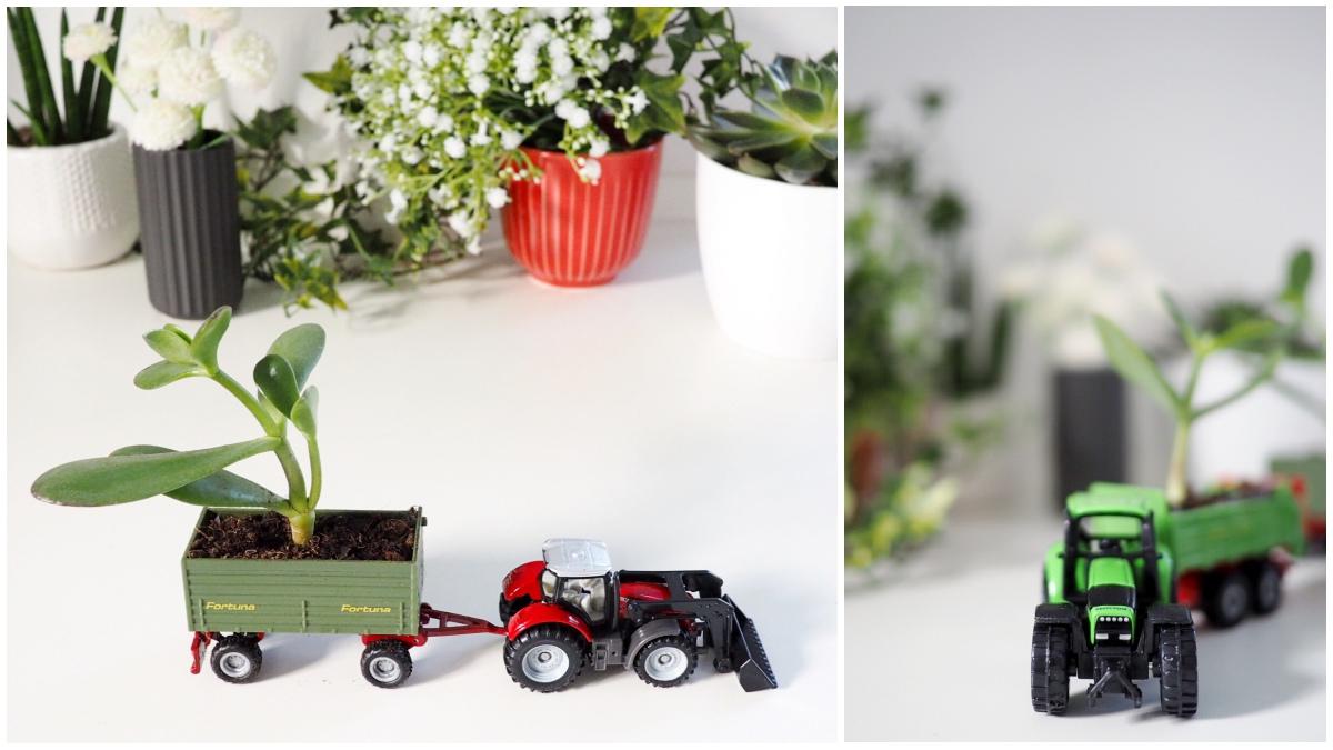 basteln mit kindern spielzeugauto diy deko idee f r das. Black Bedroom Furniture Sets. Home Design Ideas