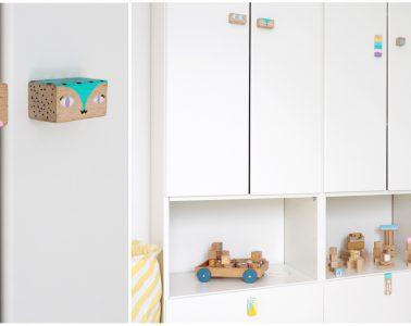 Möbelgriffe selber machen - Kinderzimmer dekorieren selbst gemacht