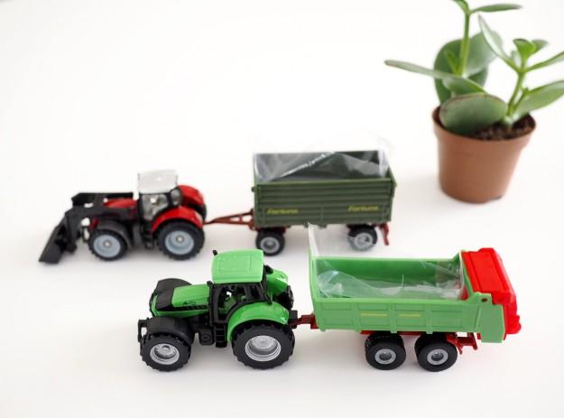 Spielzeugauto DIY Pflanzen im Kinderzimmer