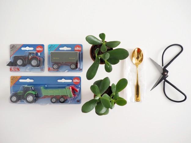 Spielzeugautos DIY Anleitung Vase Geschenkidee