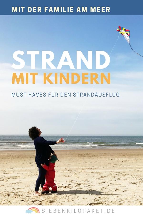 Mit Kindern am Meer - Was muss man fuer einen Strandausflug mit Kindern dabei haben