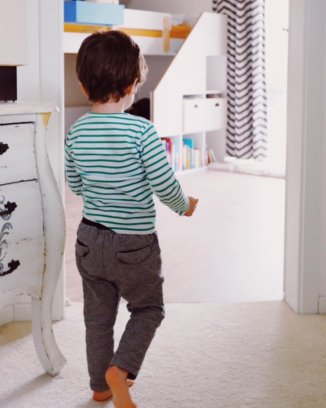 Neuer Fußboden im Kinderzimmer Bioboden