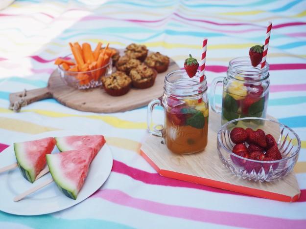 Picknick Rezepte - Sommer mit Kindern - Picknick Ideen