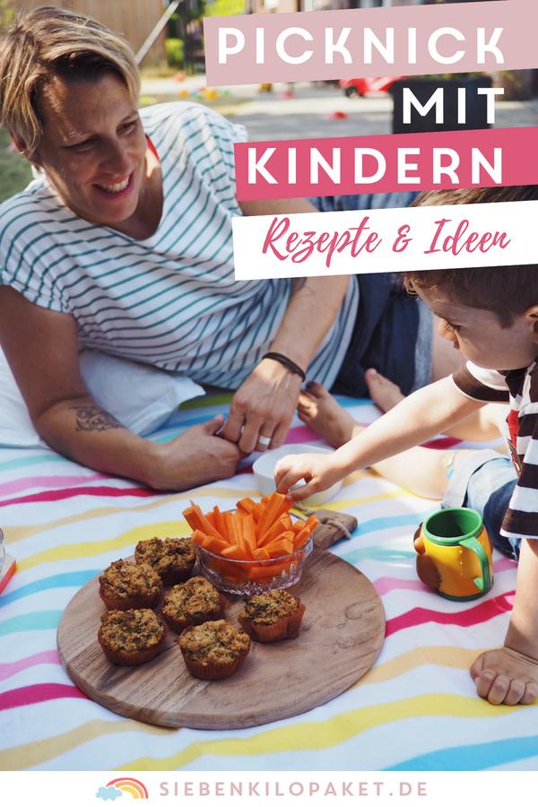 Picknick mit Kindern - Picknick Rezepte und Ideen für ein Familienpicknick
