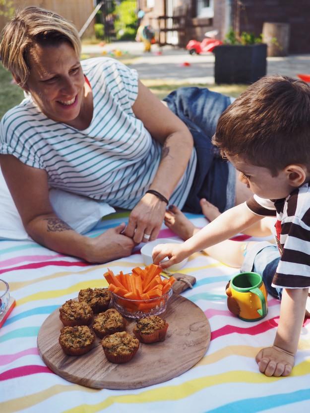 Sommer mit Kindern - Picknick Ideen und Rezepte - Spielideen Kinder im Garten