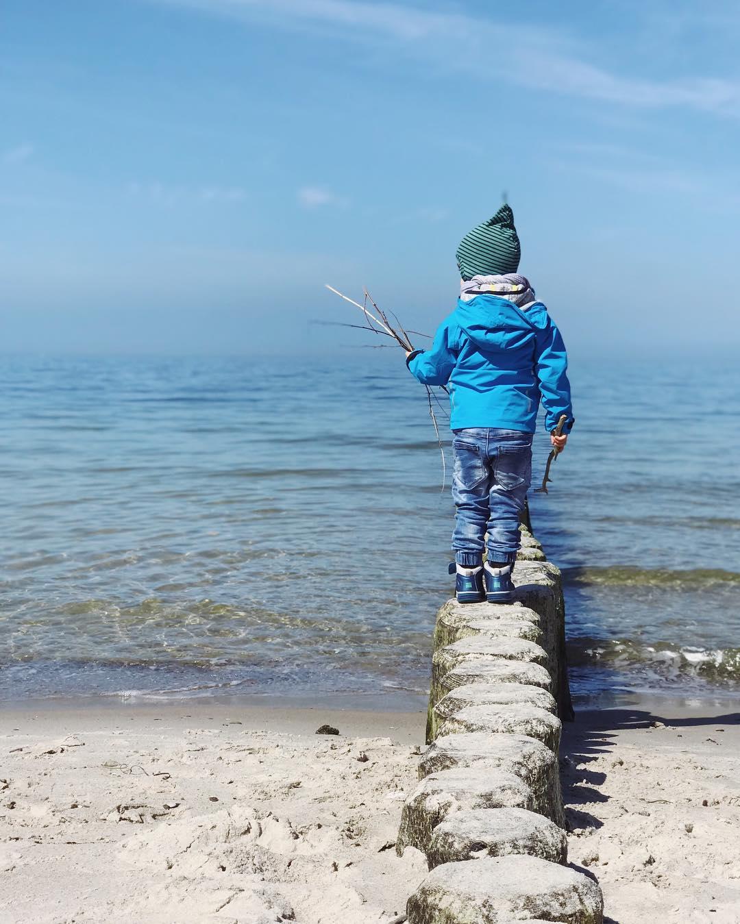 Strandtag mit Kindern an der Nordsee - Tipps für den Familienausflug