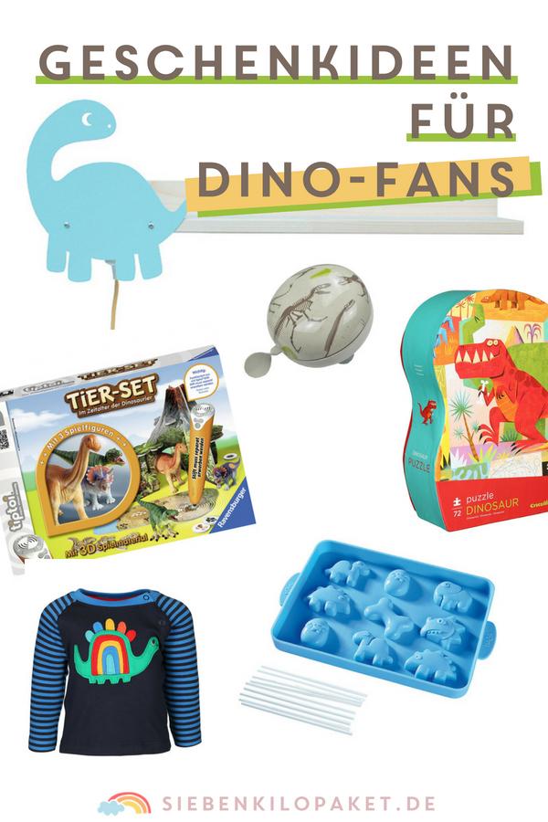 Geschenkideen für Dino Fans - alles für eine Dinosaurier Geburtstagsparty Mottoparty