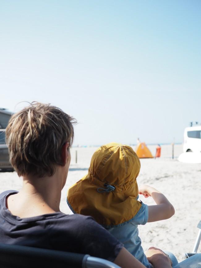 Camping mit Kindern am Strand Nordsee Sankt Peter Ording