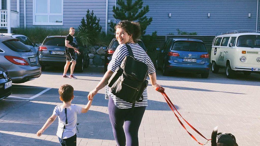 Der erste Urlaub mit Baby - Camping mit Kindern in Sankt Peter Ording