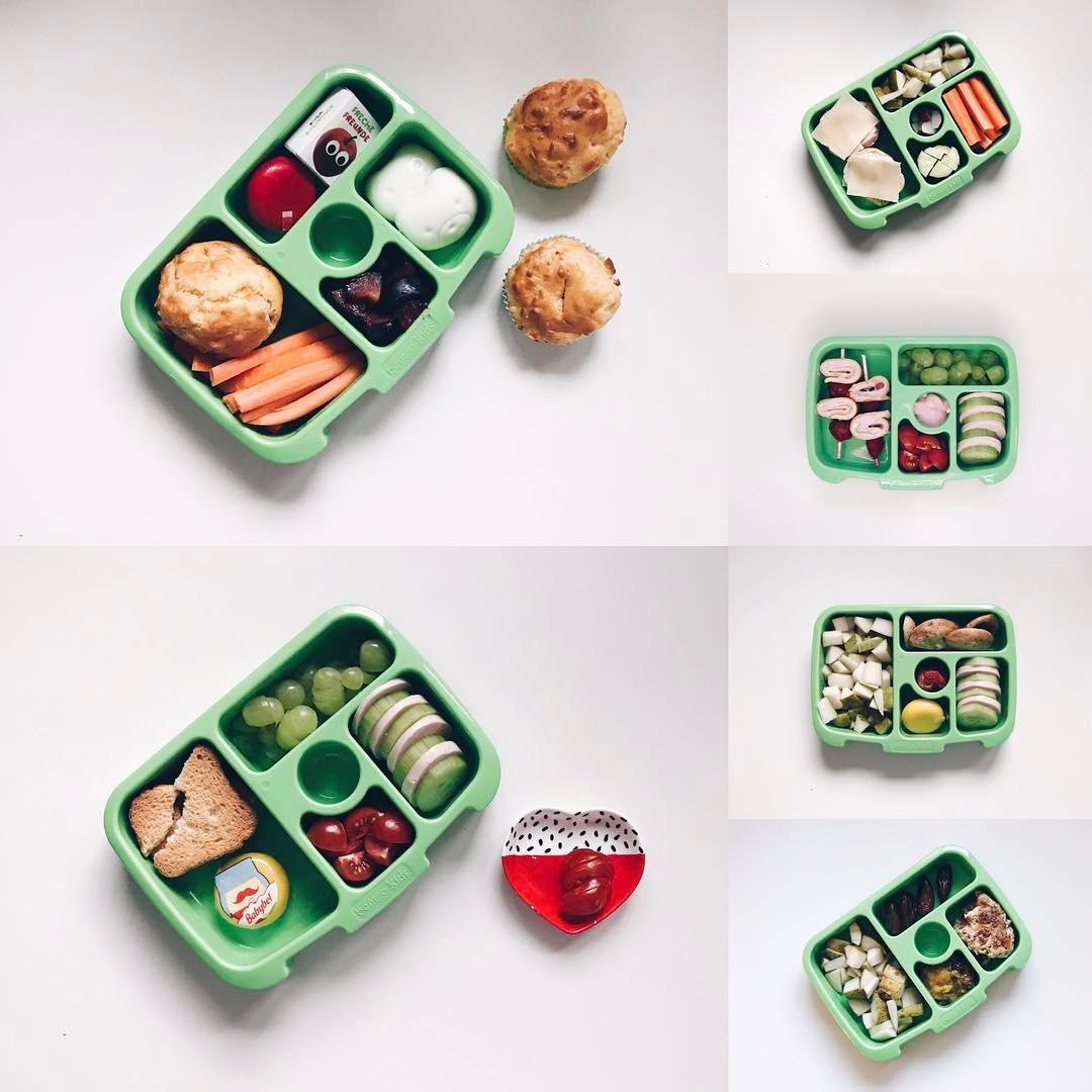 Inhalt der Kitatasche Brotdose Verpflegung für die Kita