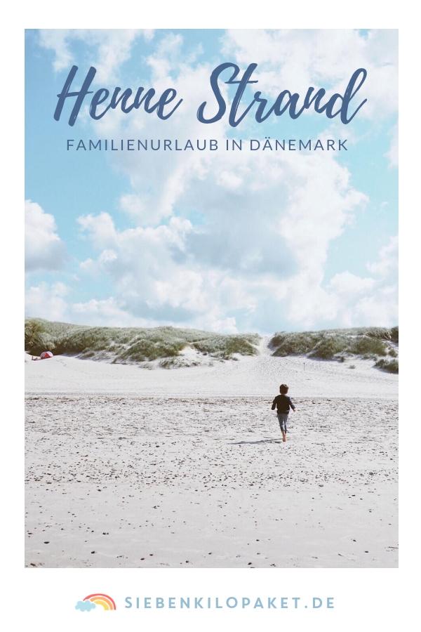 Familienurlaub in Dänemark - Henne Strand mit Kind Baby und Hund - Strandurlaub mit der Familie