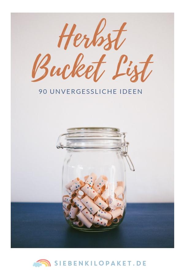 Herbst Bucket List - Ideen für einen unvergesslichen Herbst mit Kindern #herbst #kindheit #bucketlist