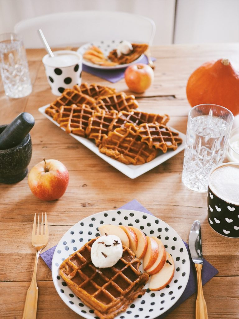 Pumpkin Spice Waffeln Rezept
