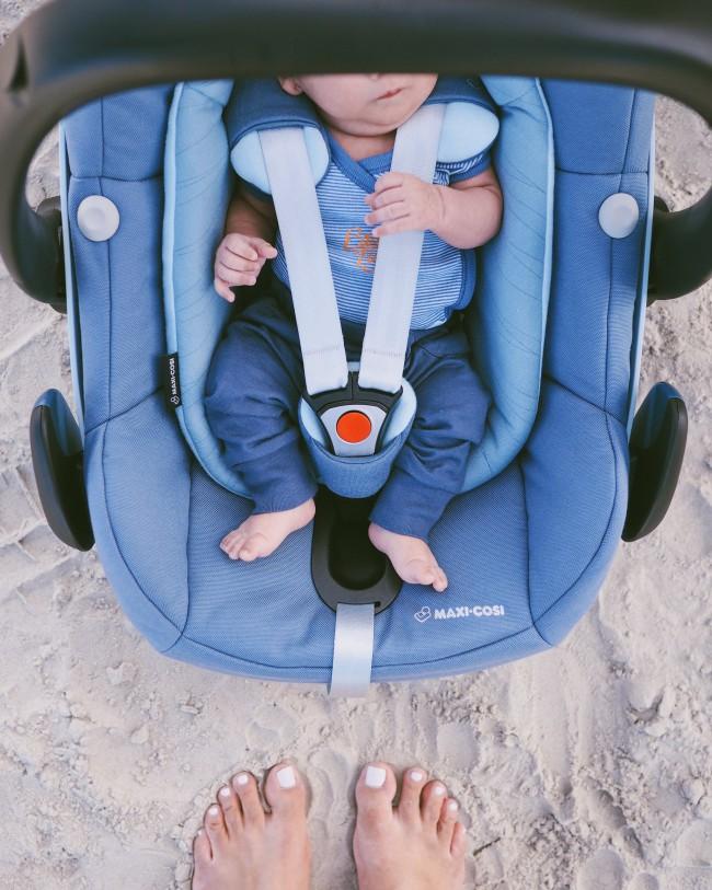 Sicheres Reisen mit Kindern - welche Babyschale für Frühchen