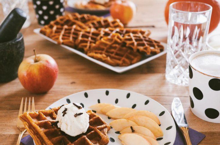Waffeln Pumpkin Spice Waffle Rezept