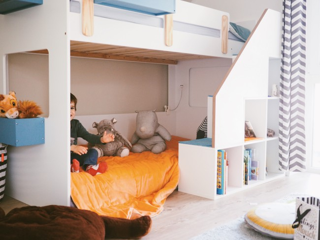 Tagesdecke Kinderzimmer rice Jungszimmer dekorieren - Dekoideen fürs Jungszimmer