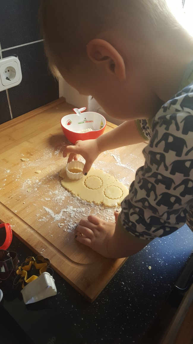 Buttergebäck Rezept Backen mit Kindern