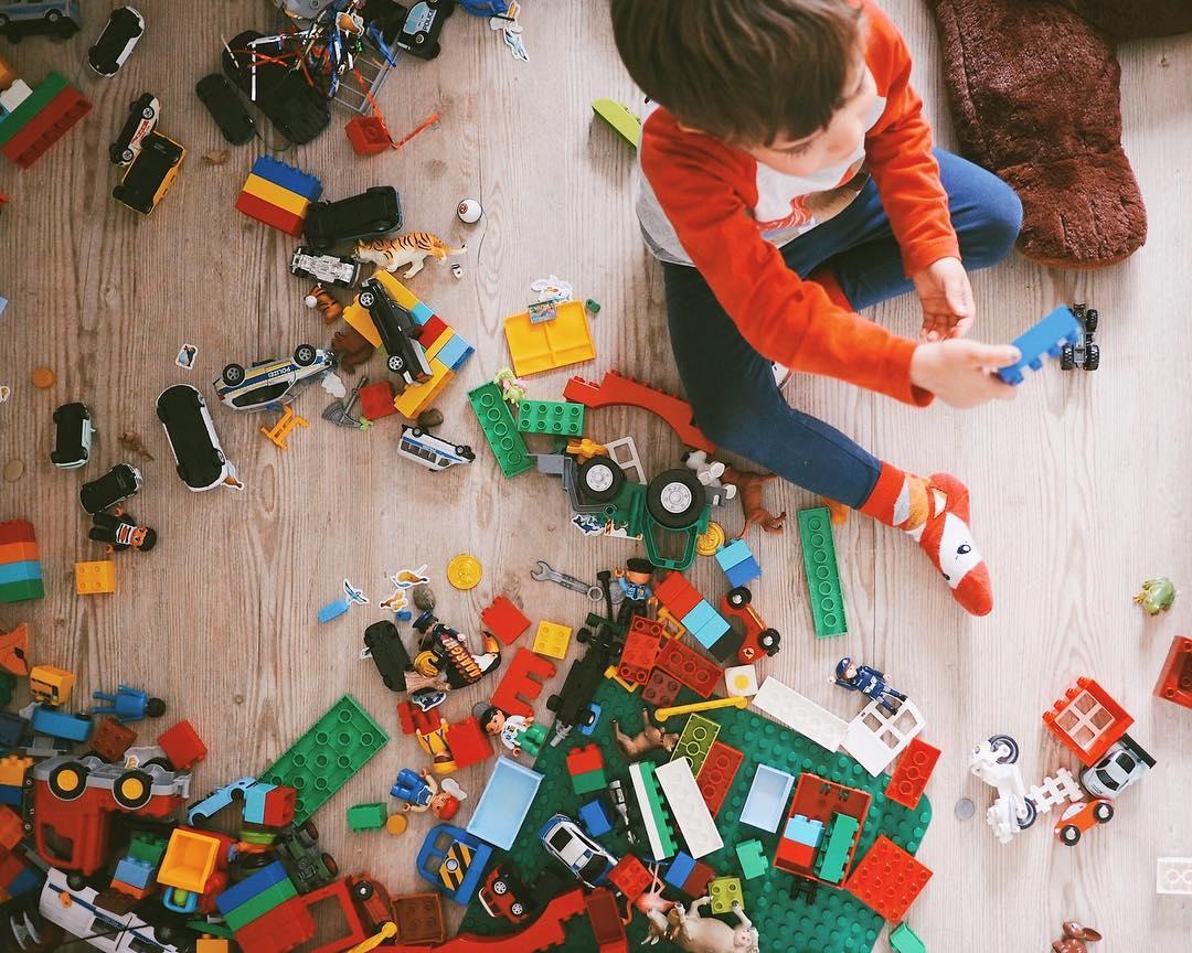 Lego Ideen Basteln Parkhaus Garage