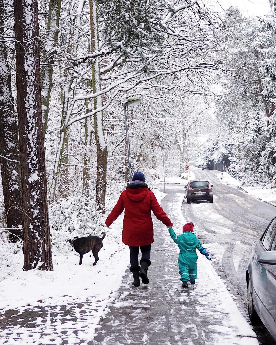 Winterspaziergang - 90 Ideen für den Winter mit Kindern