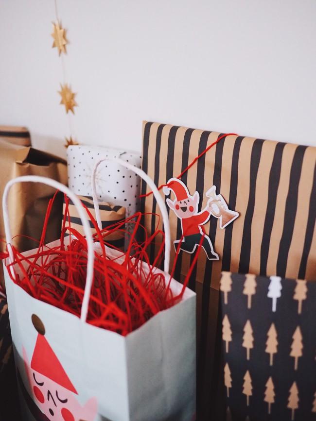 Geschenke schön verpacken mit Kindern Ideen