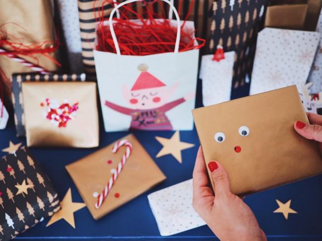 Geschenke verpacken Weihnachten Geschenkideen Giftwrapping