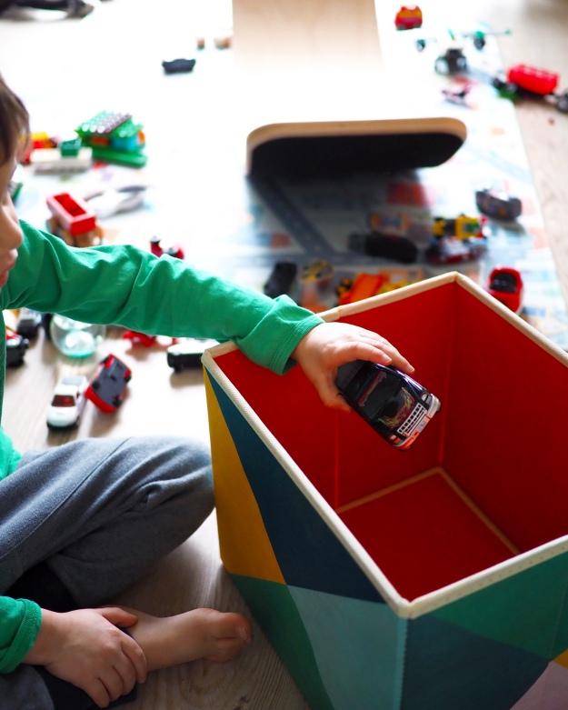 Aufräumen mit Kindern - Ordnung im Kinderzimmer