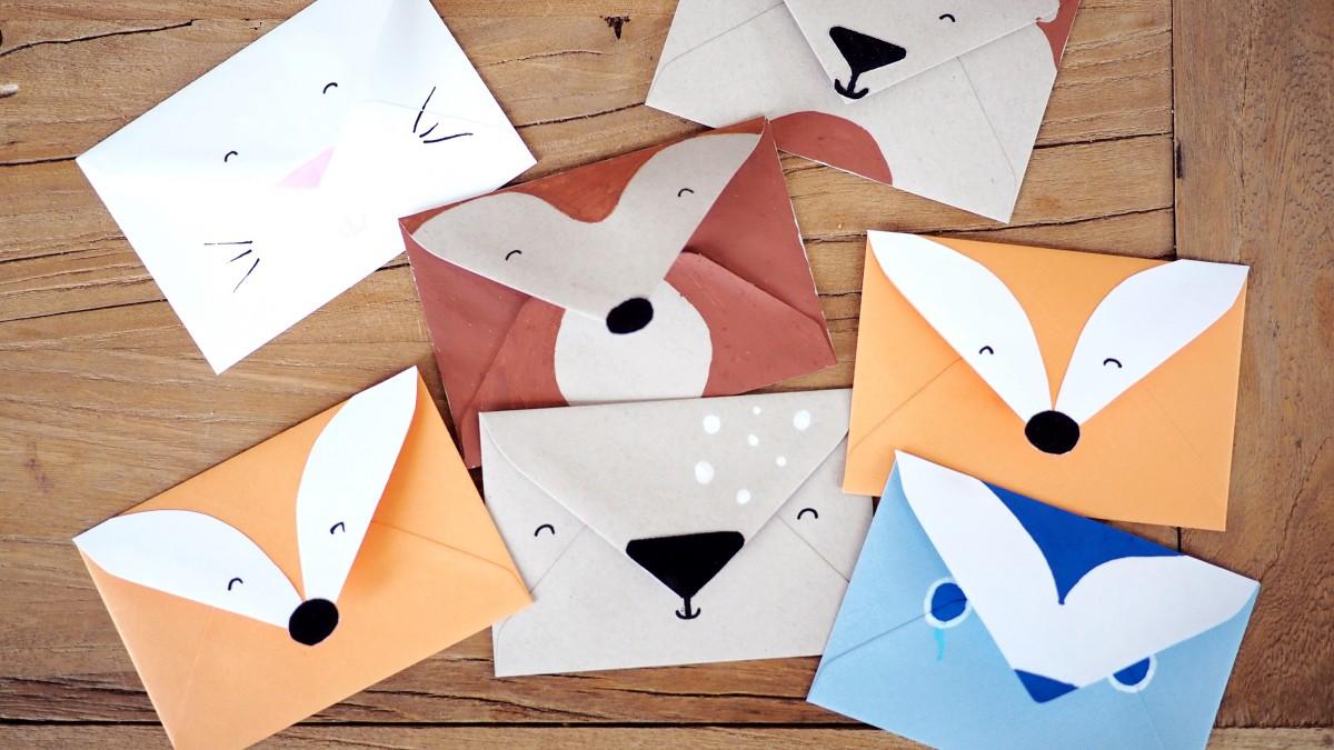 Sehr Einladungskarte Kindergeburtstag basteln: Waldtiere - Der Blog für IG14