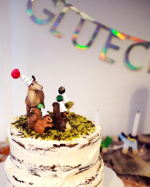 Kindergeburtstag Waldtiere Kuchen Waldgeburtstag Mottoparty