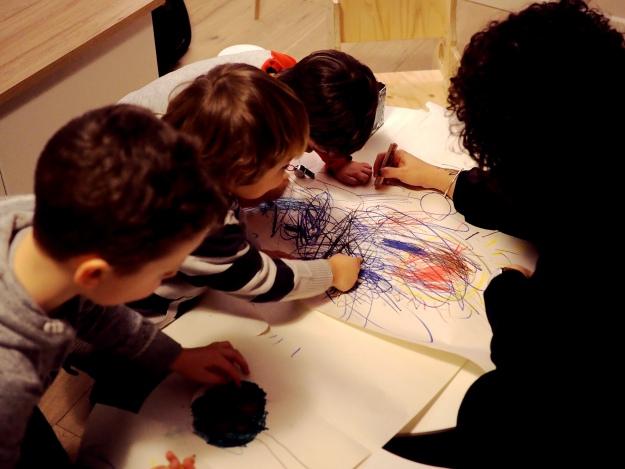 Kindergeburtstag Waldtiere Spielideen basteln malen