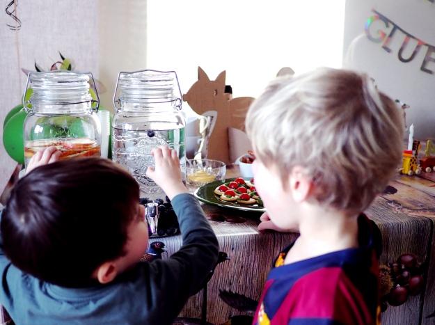 Mottoparty Waldtiere Kindergeburtstag