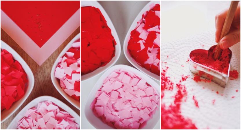 Samenbomben selber machen - Schritt für Schritt Bastelanleitung - Geschenkidee Valentinstag