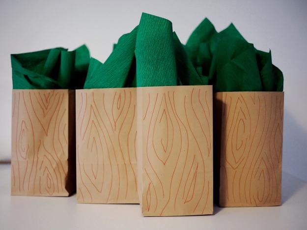 Waldtiere Kindergeburtstag Mitgebsel Giveaway Bastelidee Mottoparty
