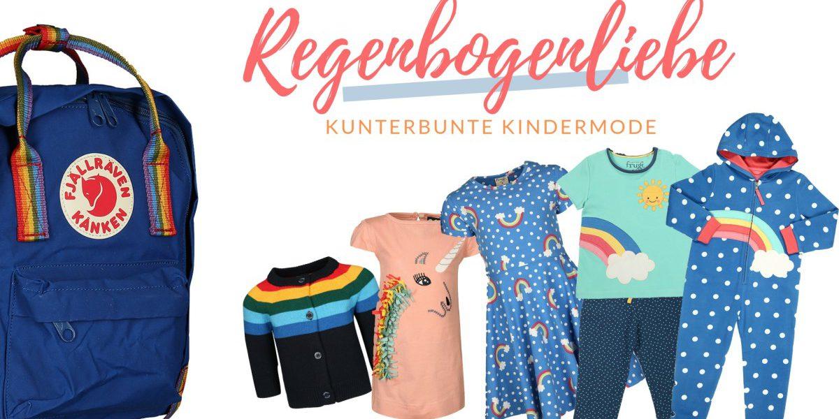 Nachhaltige Kindermode - so bunt wie der Regenbogen