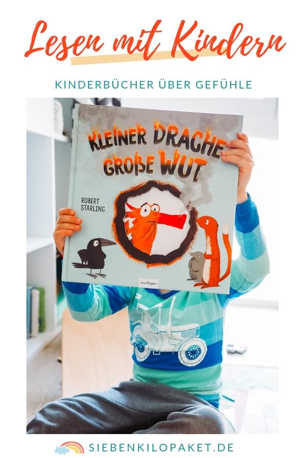 Mit Kindern über Gefühle reden - Buchtipps für Kinderbücher über Wut, Liebe, Trauer, Neid, Freude...