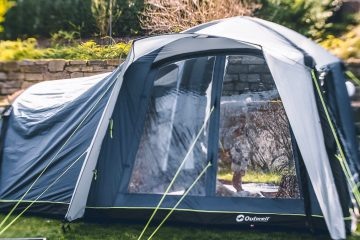 Camping mit Kindern Busvorzelt