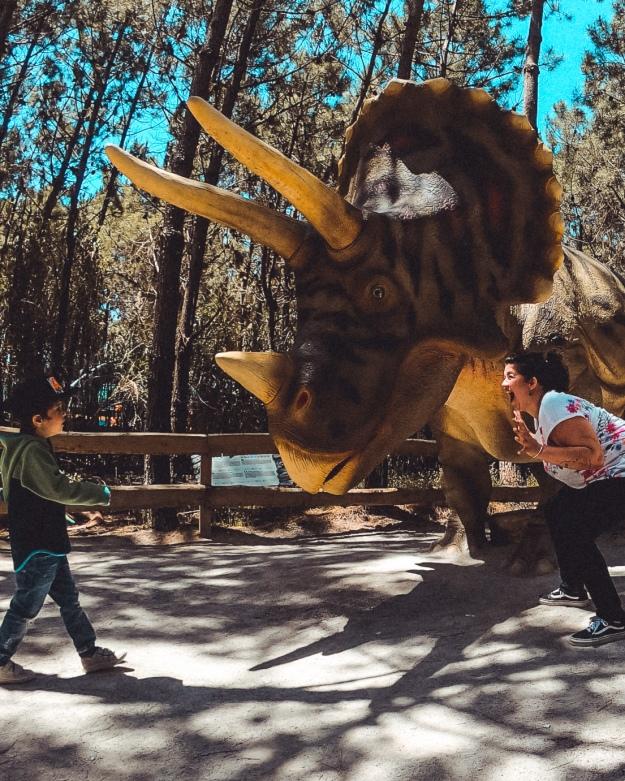 Dino Park Lourinha Portugal mit Kindern