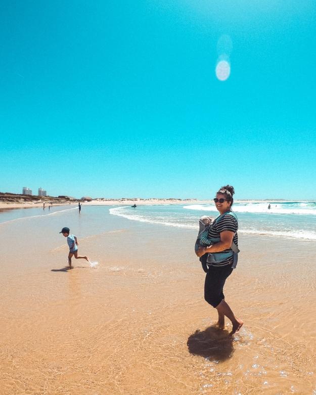 Mit der Familie im Surfcamp - Surfen lernen mit Kindern in Portugal