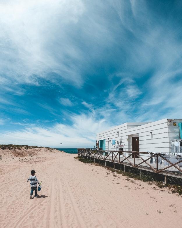 Portugal mit Kind und Hund - Surfcamp mit der Familie