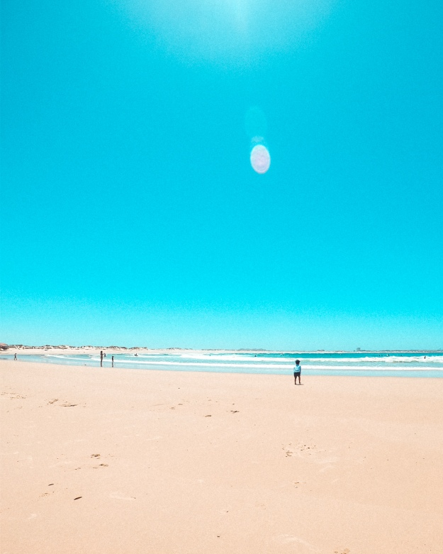 Surfen lernen in Peniche - Portugal mit Kindern