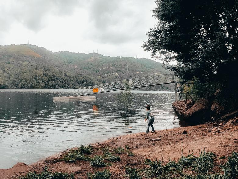Urlaub am See Portugal Geres Villas do Agrinho mit Kindern