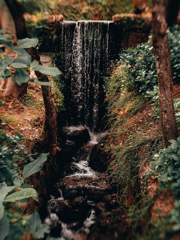 Wasserfall Geres Nationalpark Portugal mit Kindern