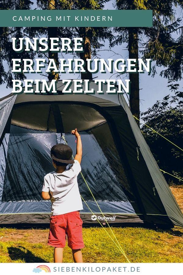 Camping mit Kindern - unsere Erfahrungen beim Zelten (Werbung)