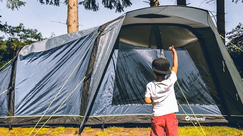 Camping mit Kindern - Zelten mit Outwell